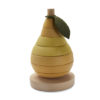 Wooden Stacking Fruit Pear