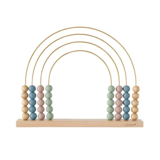 Abacus_Rainbow-Wooden_Little French Heart