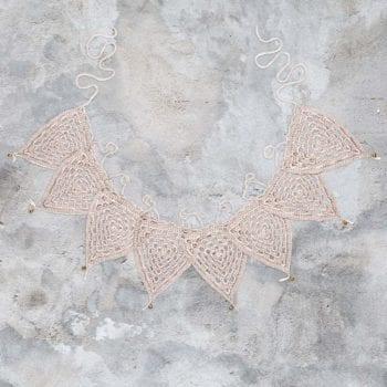 Numero 74 Bunting Garland Crochet Powder