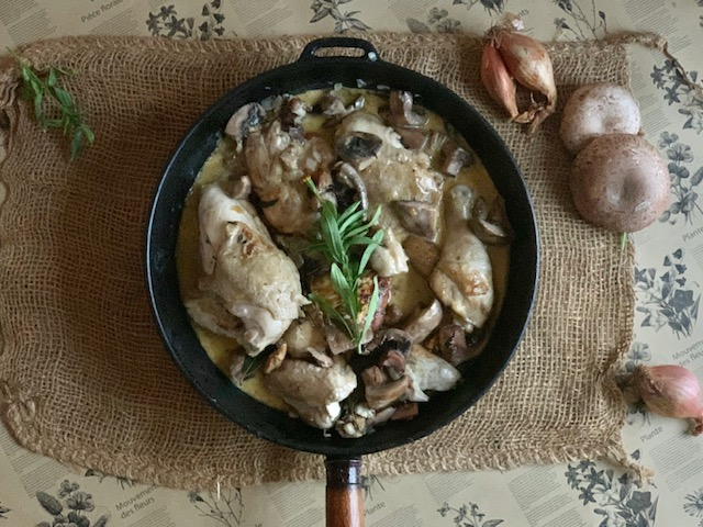 Chicken with a Little French Heart introduction