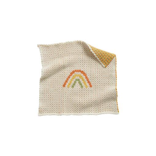 Olli Ella Dinkum Doll Rainbow Blanket