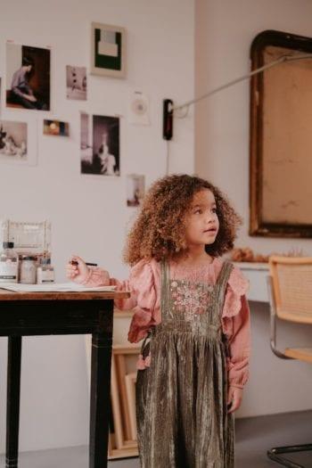Louise Misha Girls-Dress-Nouchka-OliveVelvet-6