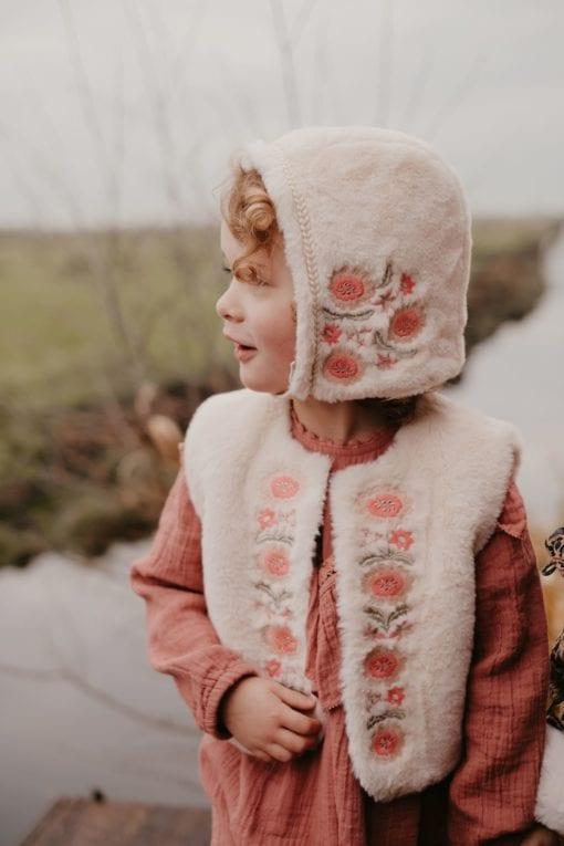 Louise Misha Bianca Vest Cream Little French Heart