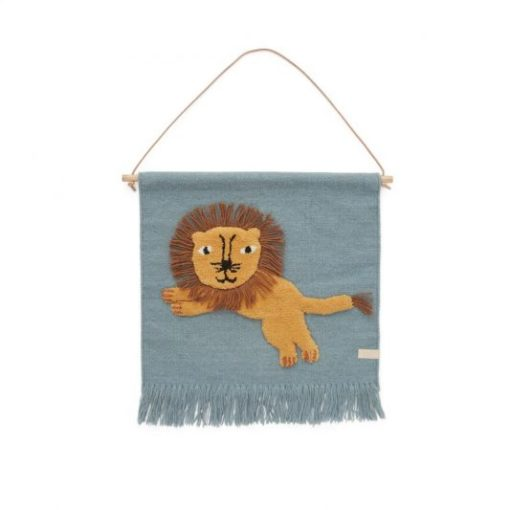 OyOy Wallhanger Jumping Lion