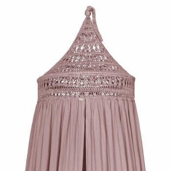 Numero 74 Tara Canopy Dusty Pink Little French Heart 1