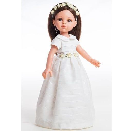 Paola Reina Carol Communion Doll Little French Heart