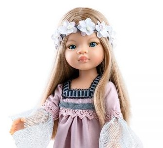 Paola Reina Manika Doll Little French Heart Feature