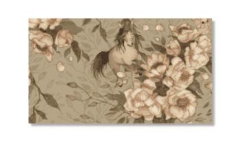 Dolls House Wallpaper | Pale Green