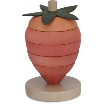 Wooden Stacking Fruit Strawberry