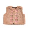 Louise Misha Vest Bianca Nuts Little French Heart
