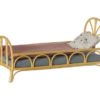 Maileg Bed Rattan Medium