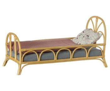 Maileg Bed Rattan Medium