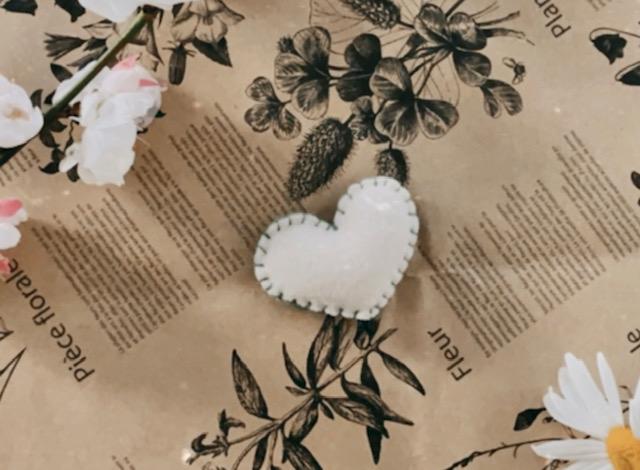 Strong Heart - Little French Heart