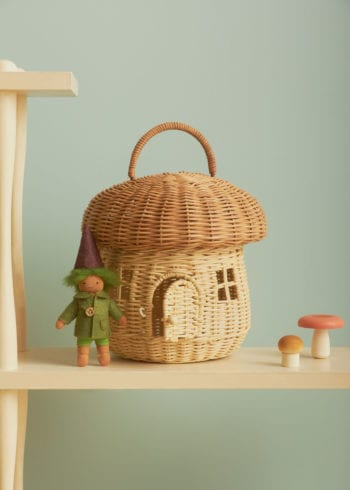 Mushroom Basket-Little French Heart