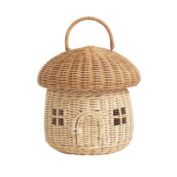 Mushroom Basket-Little French Heart