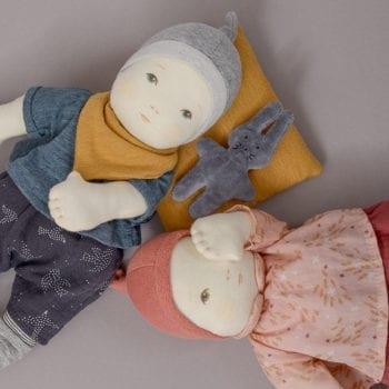 Les Bebes baby boy Doll