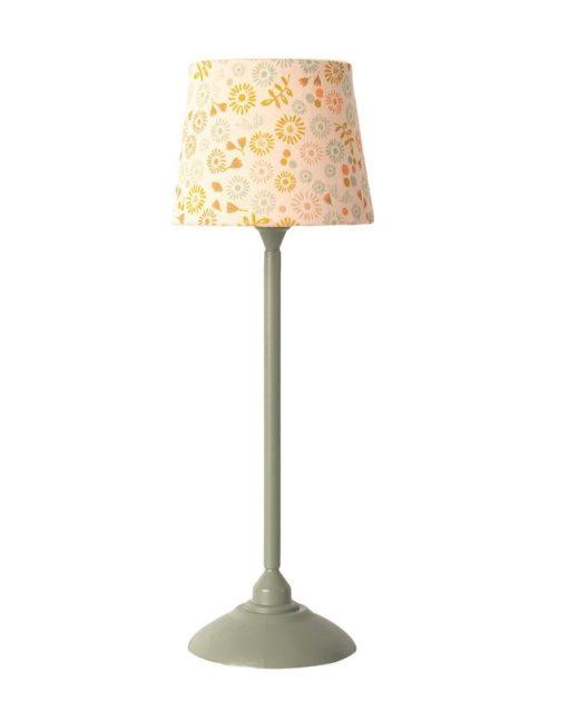 Maileg Miniature Floor Lamp Mint
