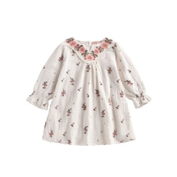 Louise Misha Blouse Off white Flowers Ines Dress