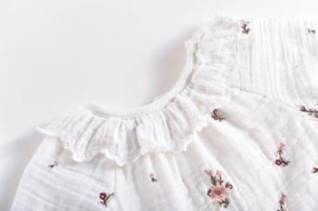 Louise Misha Blouse Off white Flowers resized