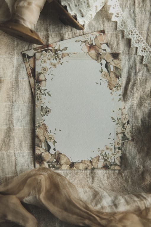 Mrs Mighetto 2 pack Cards The Floral Glade