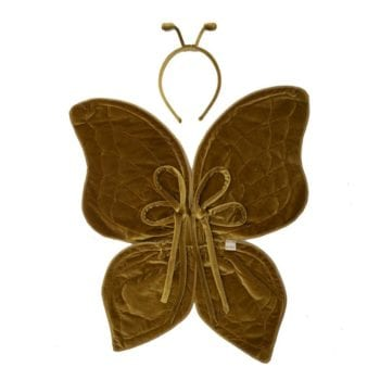 Numero 74 Butterfly Wings Gold Little French Heart
