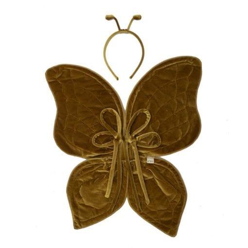 Numero 74 Butterfly Wings Gold Little French Heart
