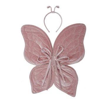 Numero 74 Butterfly-Wings-Rose antennae and headset