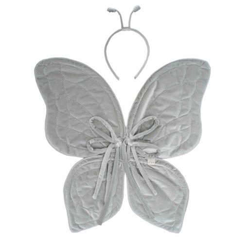 Numero 74 Butterfly-Wings-Silver Little French Heart