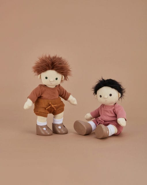 Olli Ella Dinkum Doll Snuggly Set - Toffee