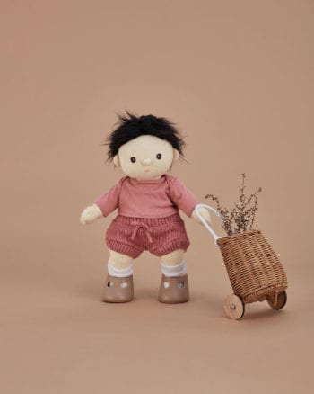 Olli Ella Dinkum Doll Snuggly Set - Berry
