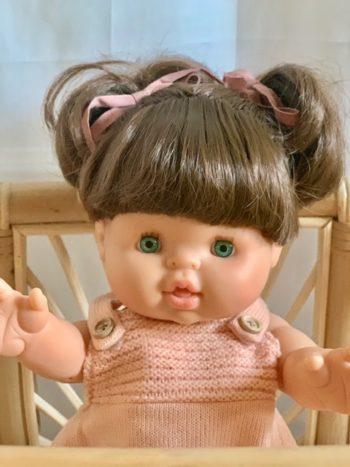 Paola Reina Gordis Doll Daisy Close Little French Heart Bassinet 2