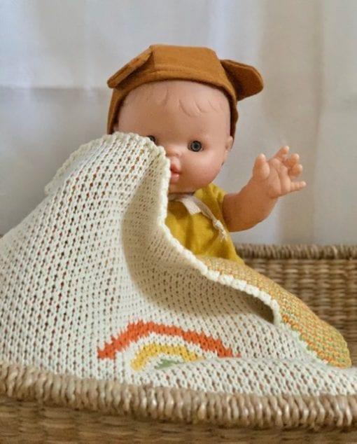 Paola Reina Gordis Noah Baby Doll Romper Set