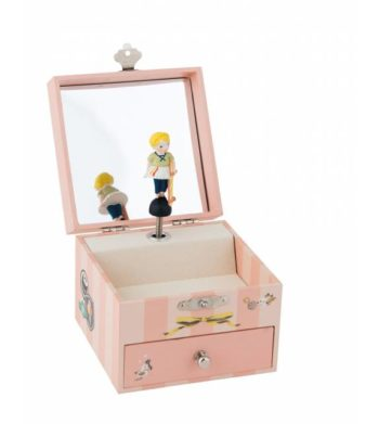 Les Parisiennes musical jewellery box