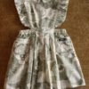 Bonjour Diary Moss Green Flower Print Apron Dress