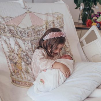 Atelier Choux Carousel Baby Wrap - All Things Victoria