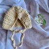 Dolls Baby Bonnet Flax