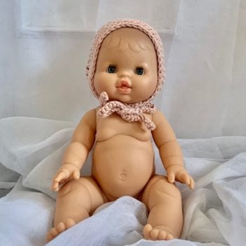 Dolls Baby Bonnet Magnolia Little French Heart