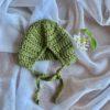 Dolls Baby Bonnet Olive