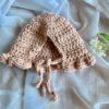 Dolls Ruffle Bonnet Crochet Magnolia