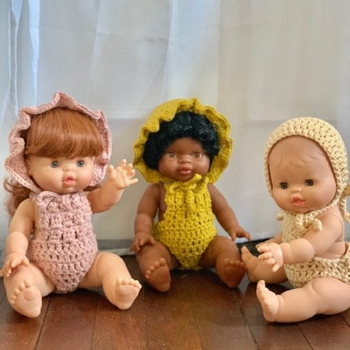 Dolls Crocheted Clothing Little French Heart