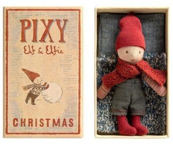Maileg Pixy Elf Little French Heart