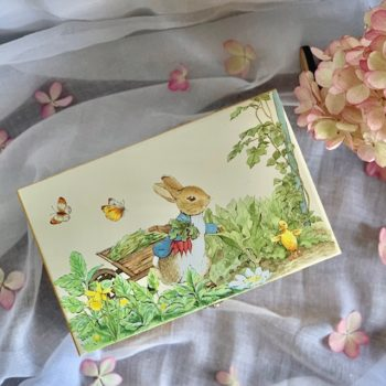 Music Box Peter Rabbit Butterflies Little French Heart