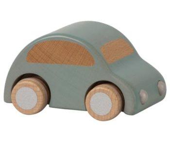 Maileg Wooden Car Light Blue