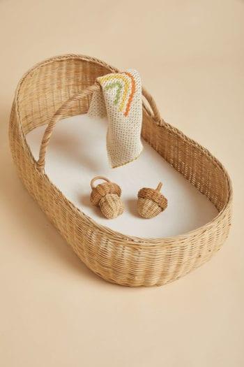 Mushroom Rattle- Little French Heart