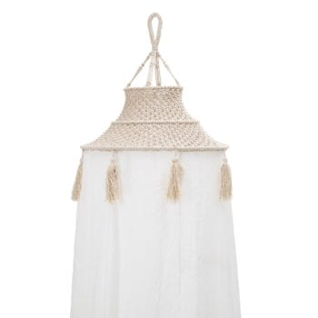 Bloomingville Macrame Canopy Little French Heart