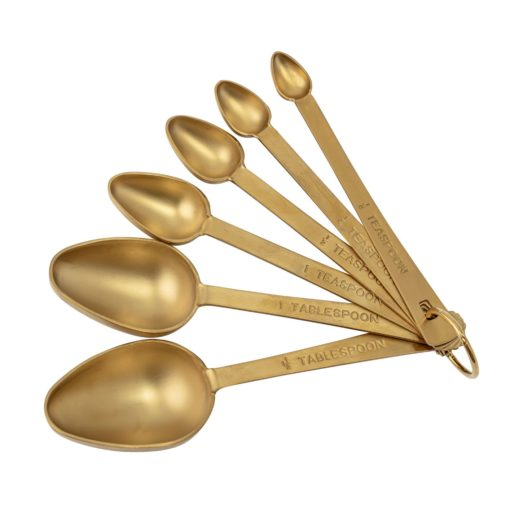 Gold Measuring Spoons low res