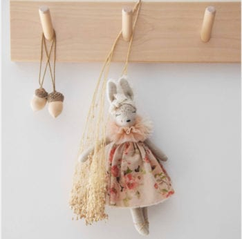 Bunnette in French Summer Flower Dress Mini