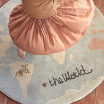 The World Tufted Rug Little French Heart
