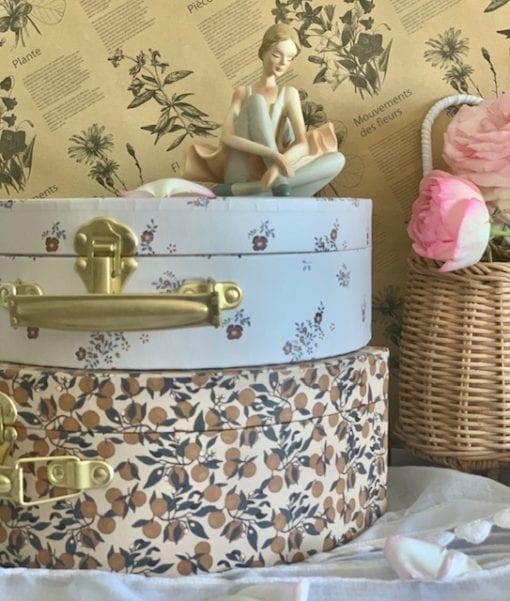 kongessloejd orangery beige luggage set Little French Heart