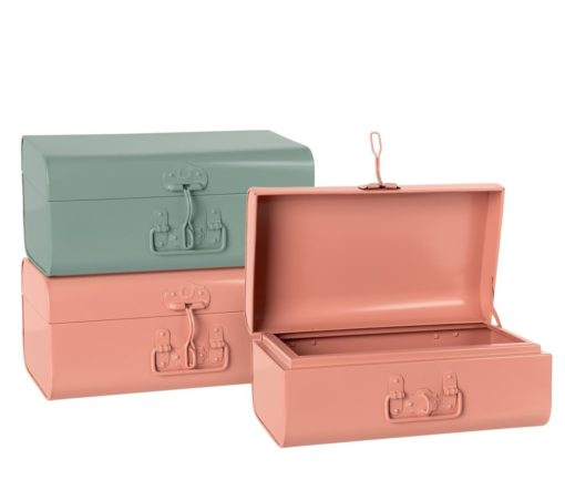 Maileg storage suitcases assorted little french heart